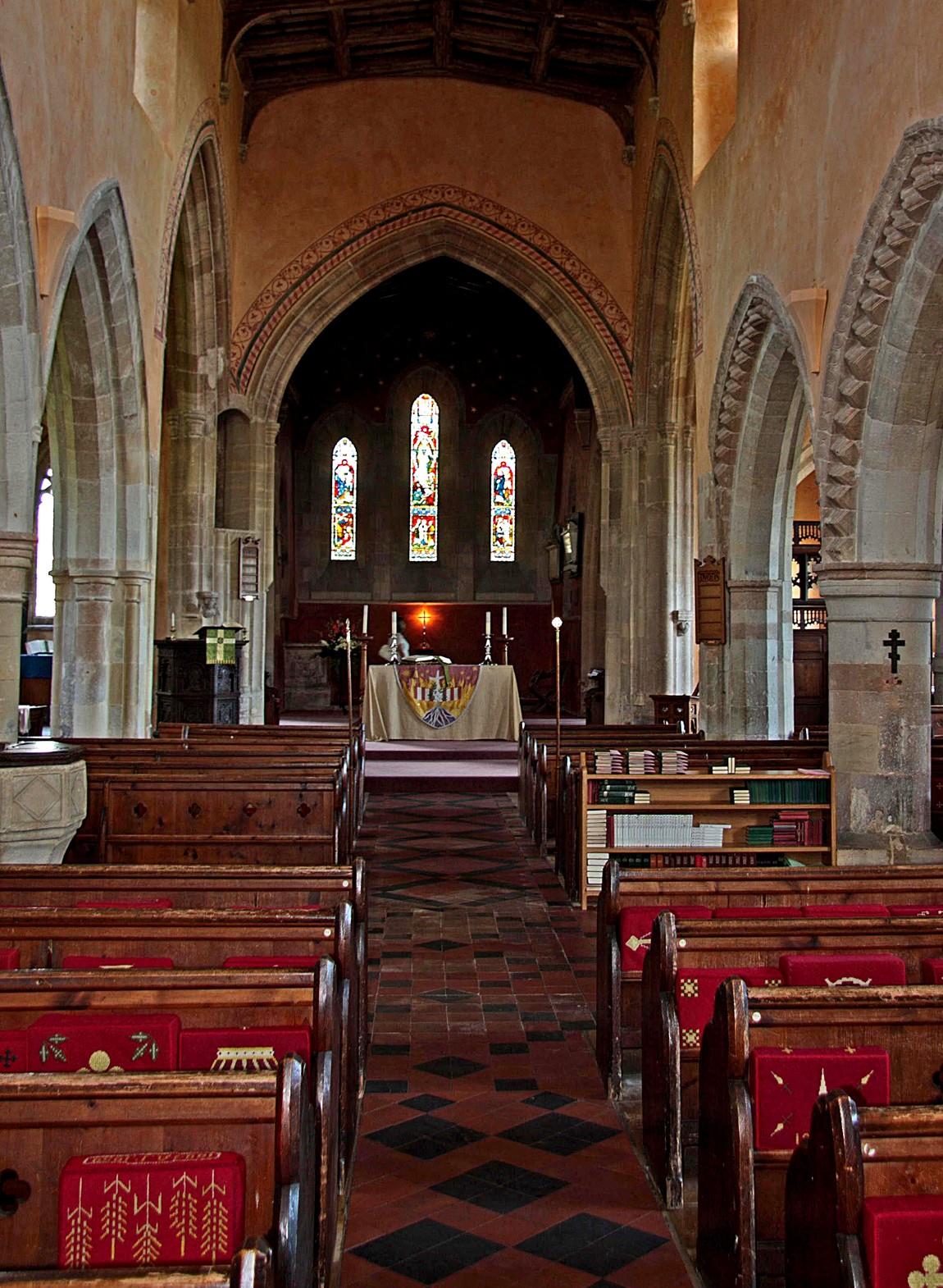 Церковь Святого Михаила в Олбурне (Англия)