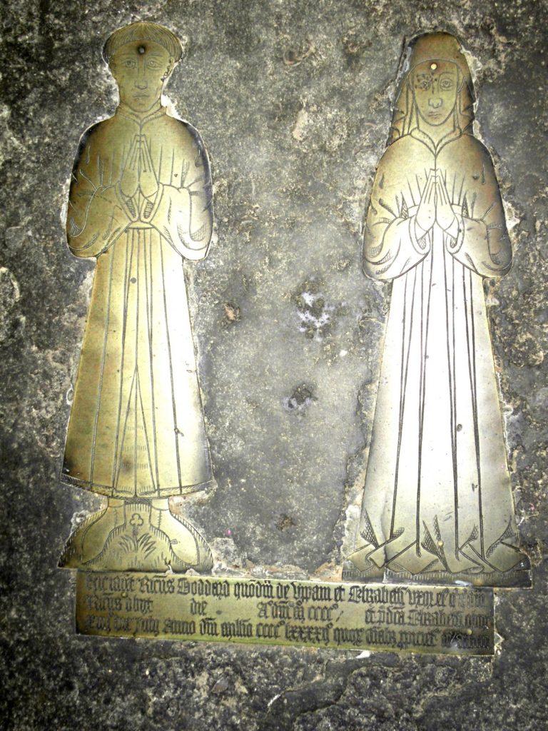 Картина - чеканка в храме Св. Михаила Олдбурн (Англия)