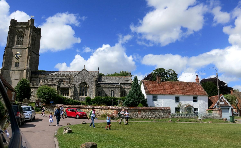 Церковь Св. Михаила в Олдбурне (Англия)