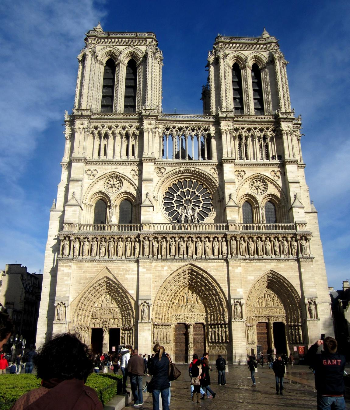 Собор Парижской Богоматери Нотр-Дам (Франция)