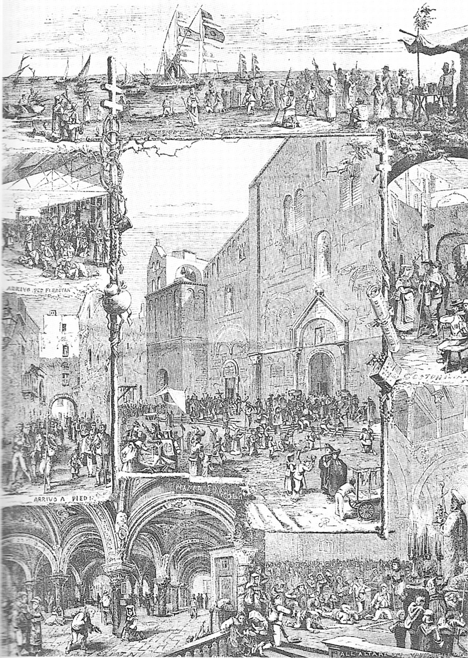 Ярмарка и паломничество на празднике в честь Св. Николая в Бари