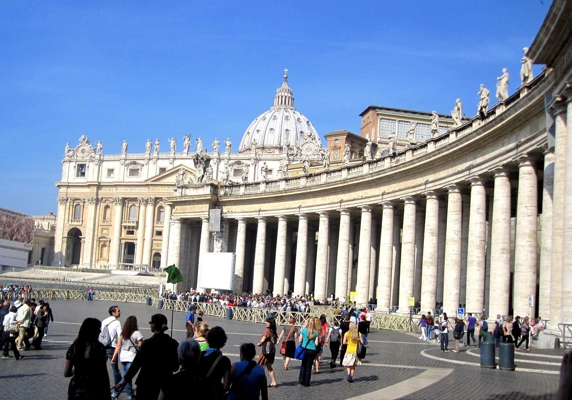 Собор святого петра в риме картинка