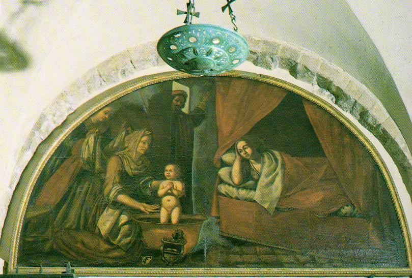 Икона в Крипте Николая Чудотворца в Бари (Италия)