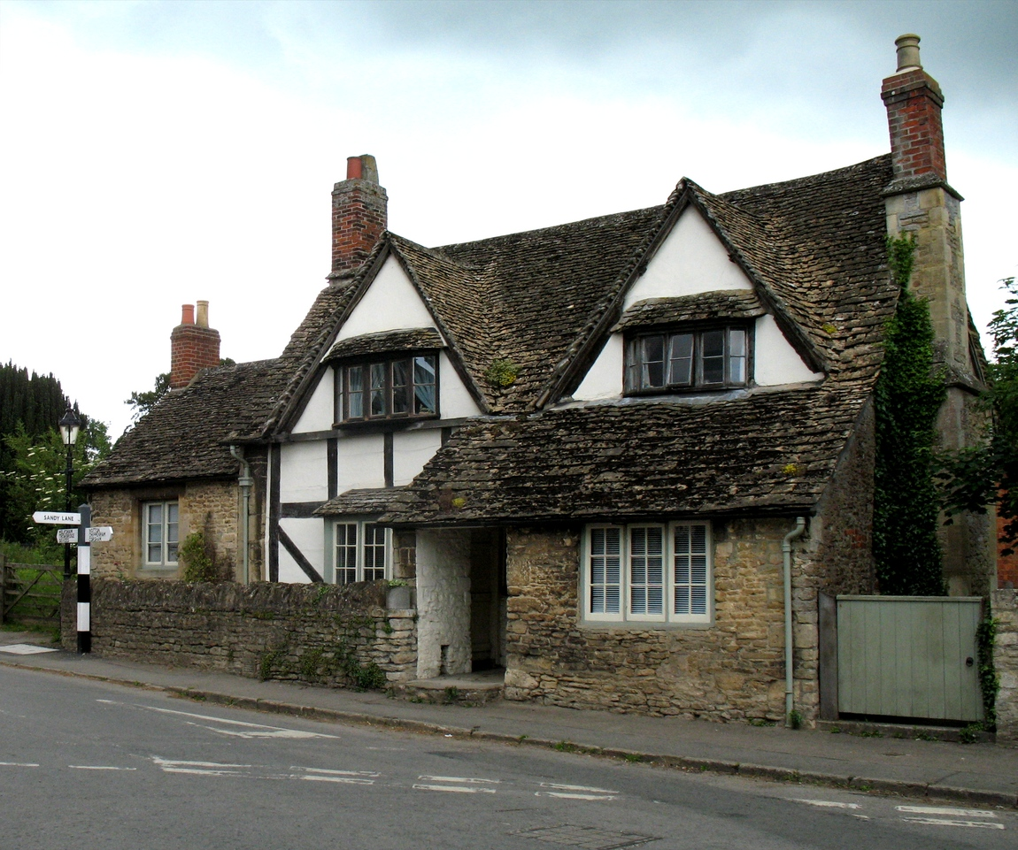 Деревня Лекок Англия