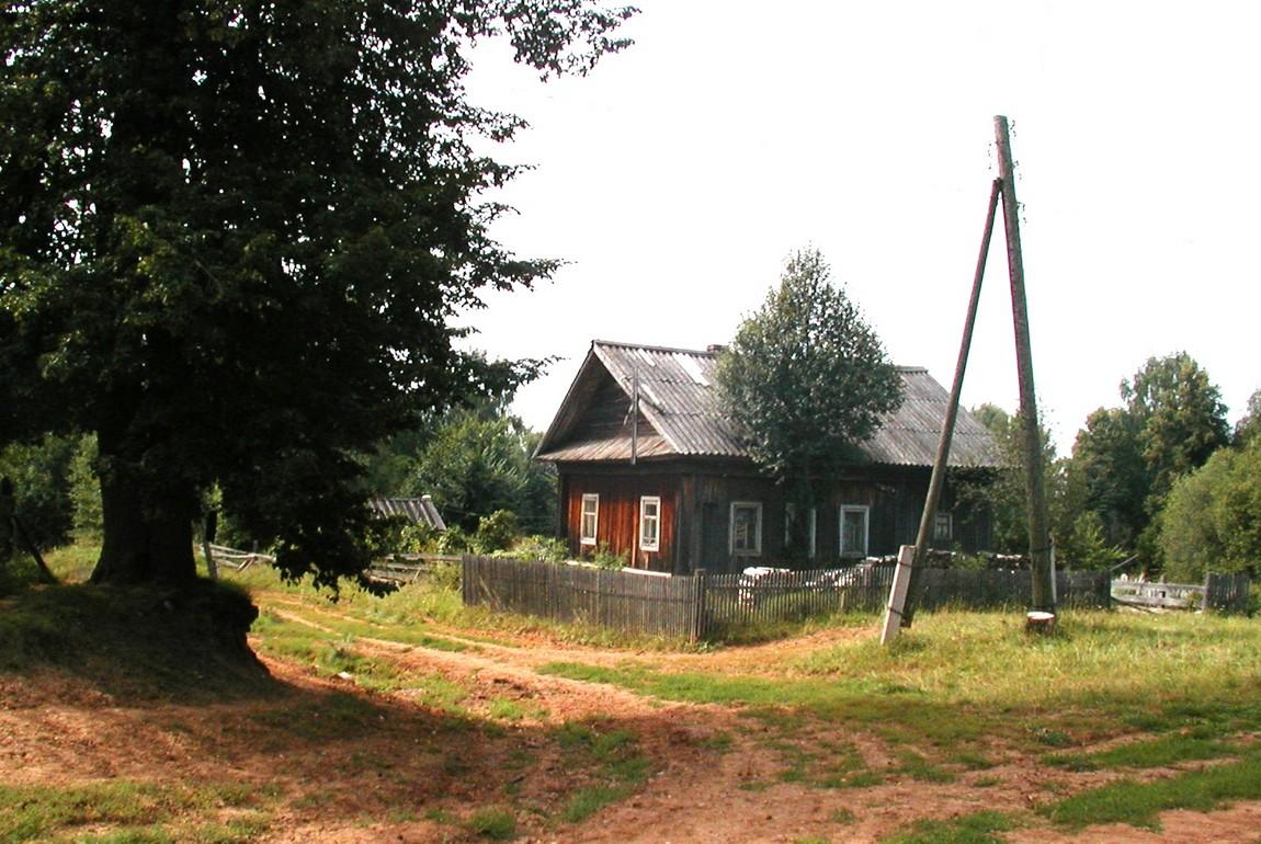 Перекрёсток деревни Черепаново и Токари