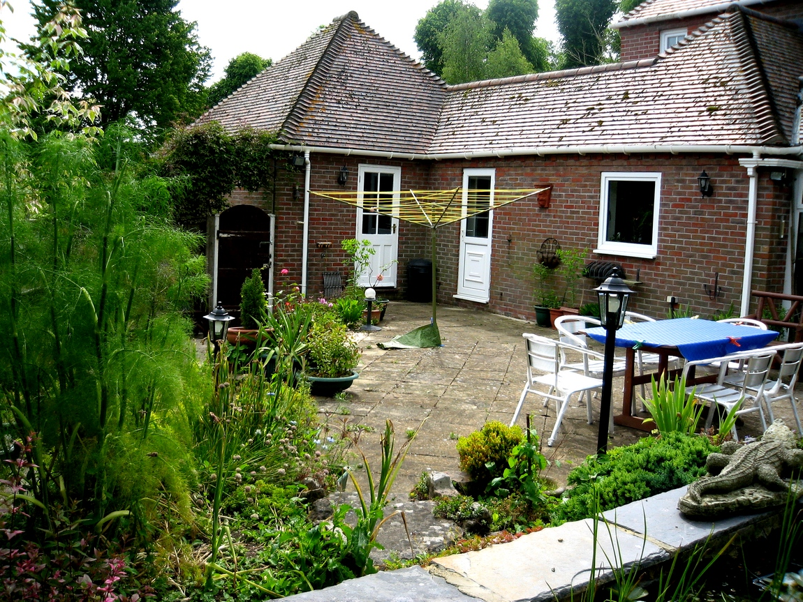 Внутренний двор Английского дома