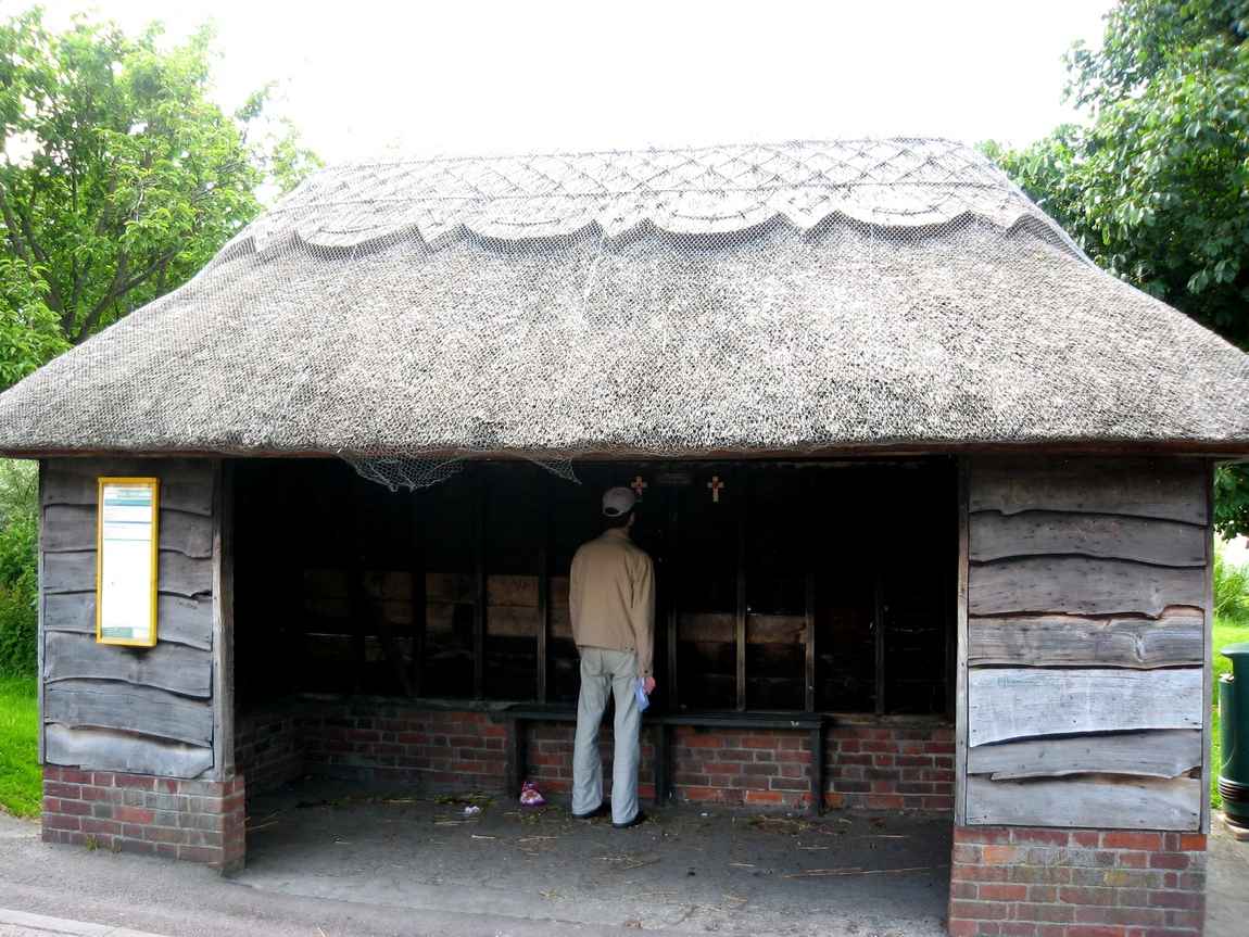 Остановка в деревне Англии
