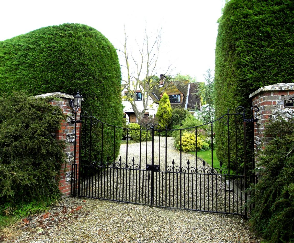 Деревня Олдбурн в Англии