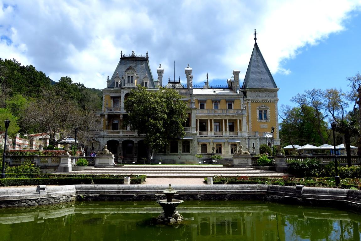 Массандровский парк - дворец
