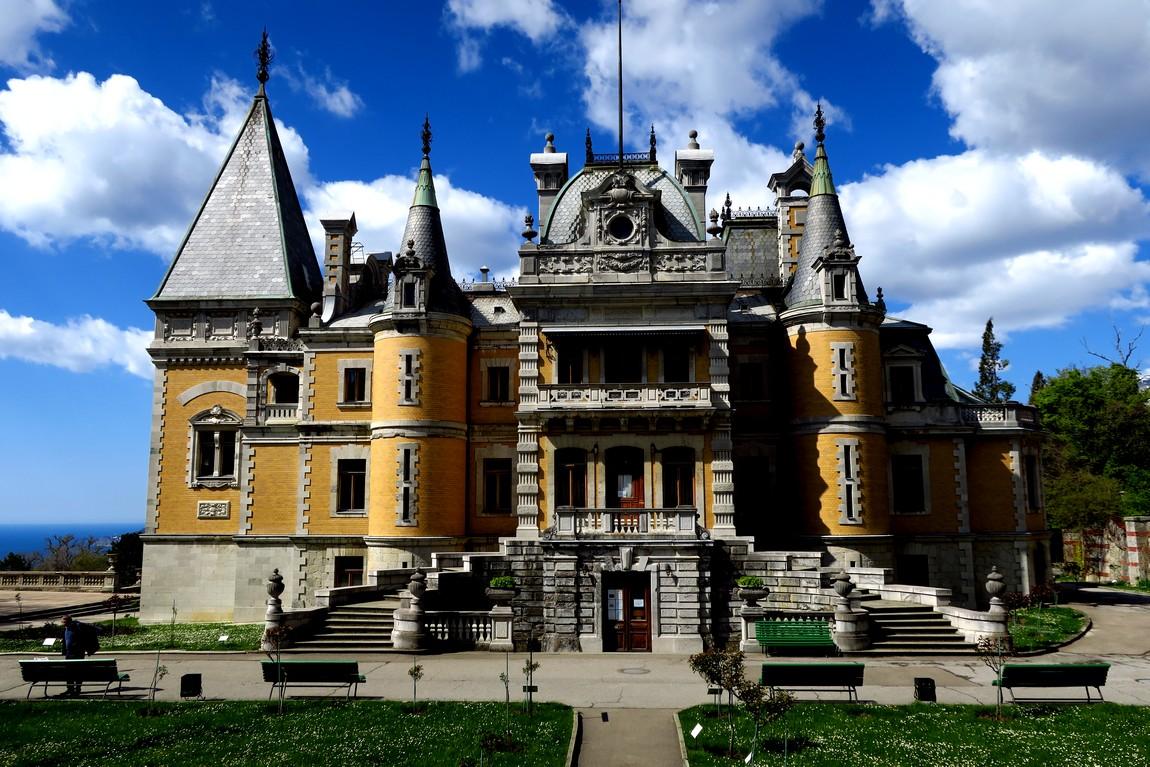 Массандровский сад - дворец