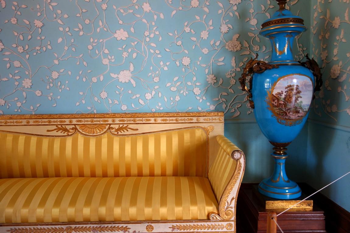Воронцовский дворец - Голубая гостиная