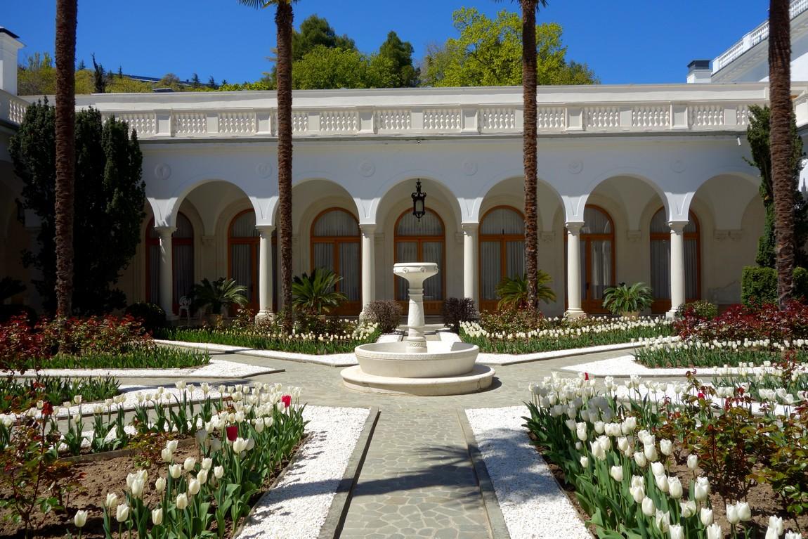 Ливадийский дворец - Итальянский дворик