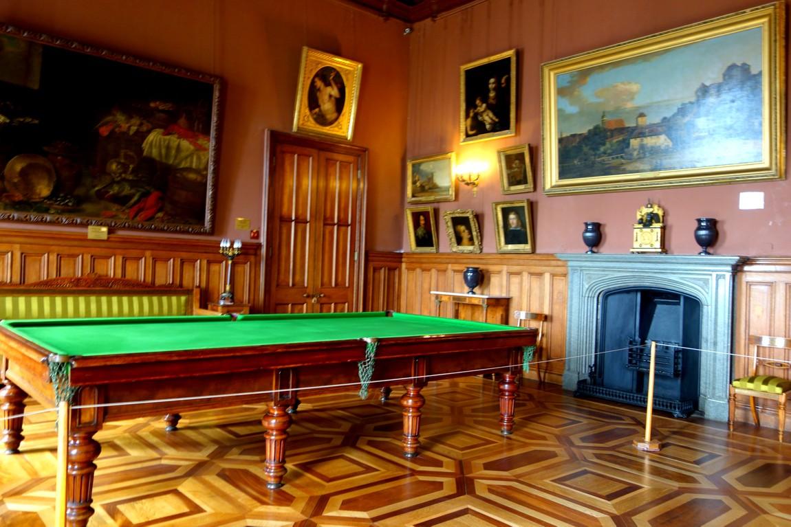 Воронцовский дворец - Бильярдная комната