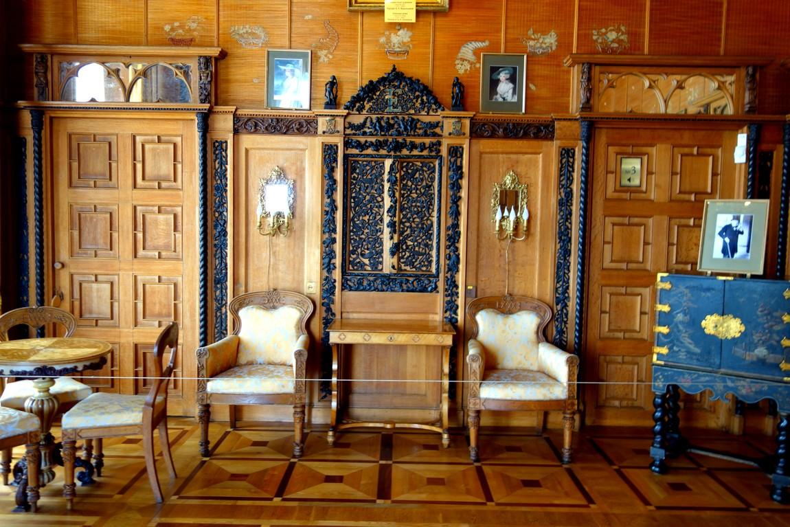 Воронцовский замок - Китайский кабинет