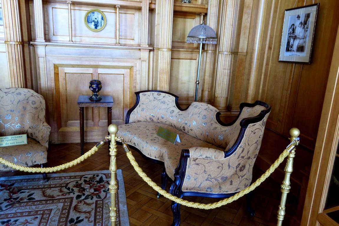 Ливадийский дворец - Кабинет императрицы