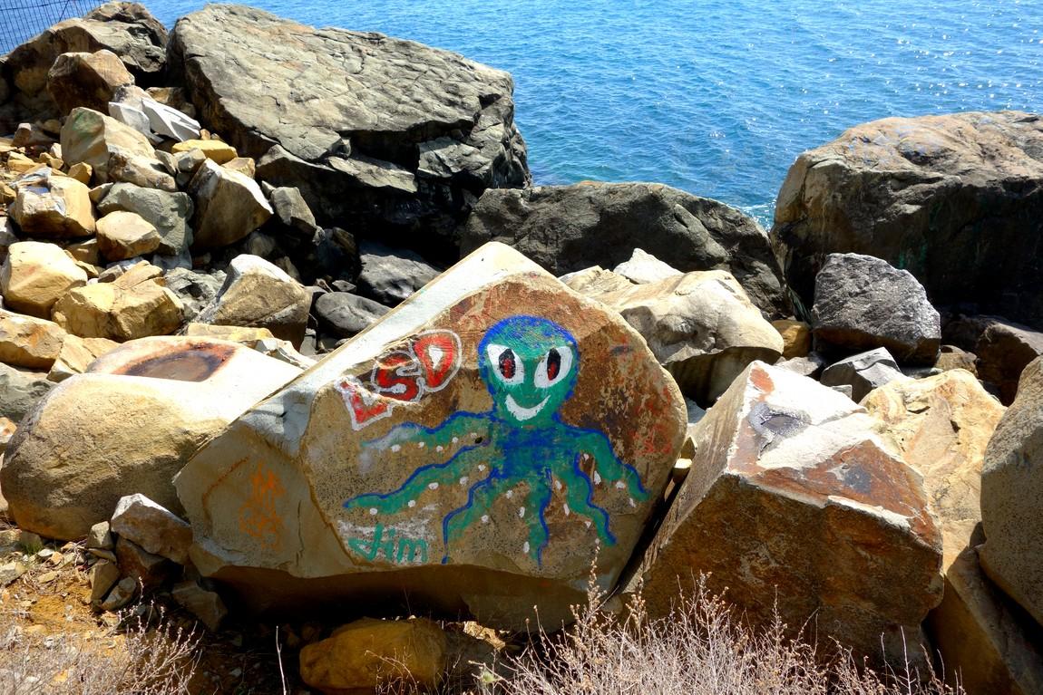 Море Чёрное и граффити