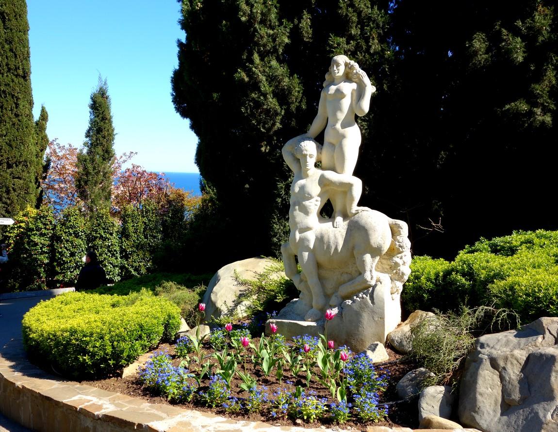 Парк Айвазовского - цветники