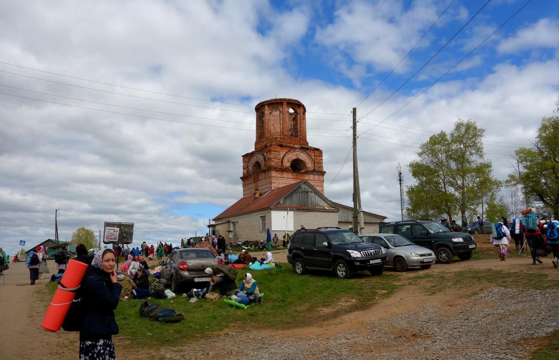 Крестный путь от Загарья до Монастырского - село Загарье