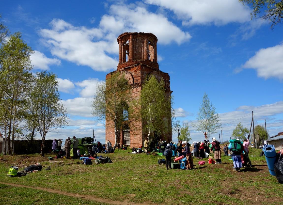 Крестный путь от Загарья до Монастырского - Вознесенская церковь
