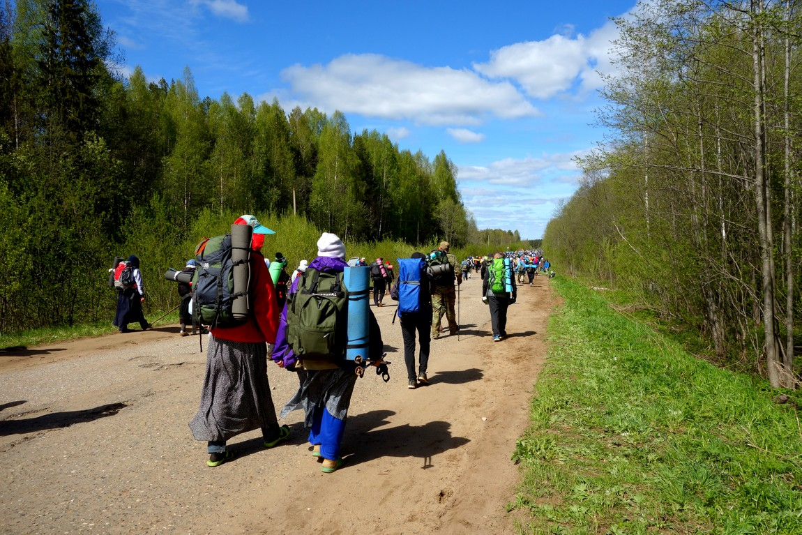 Крестный путь от Загарья до Монастырского
