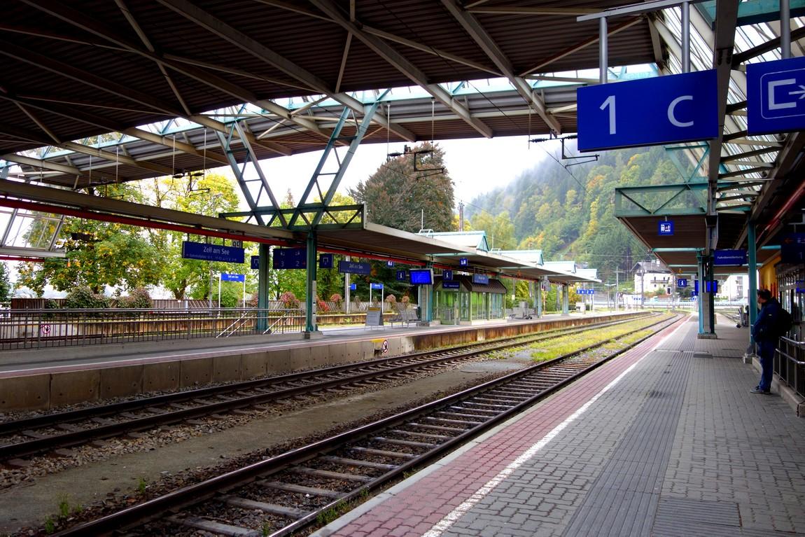 Вокзал Цель-ам-Зее в Австрии