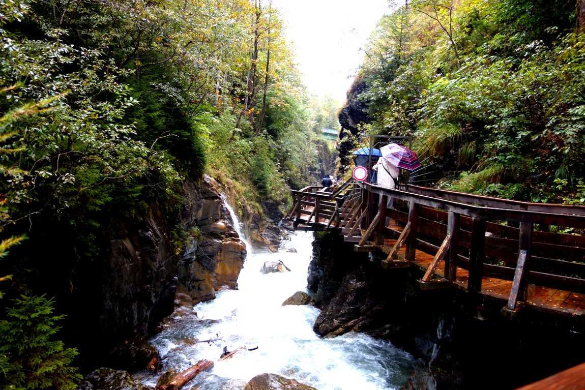 Ущелье Зигмунд-Тун-Кламм в Австрии