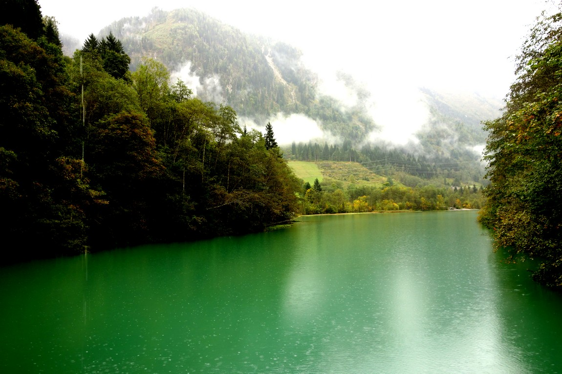 Зелёное озеро - Кламмзее в Австрии