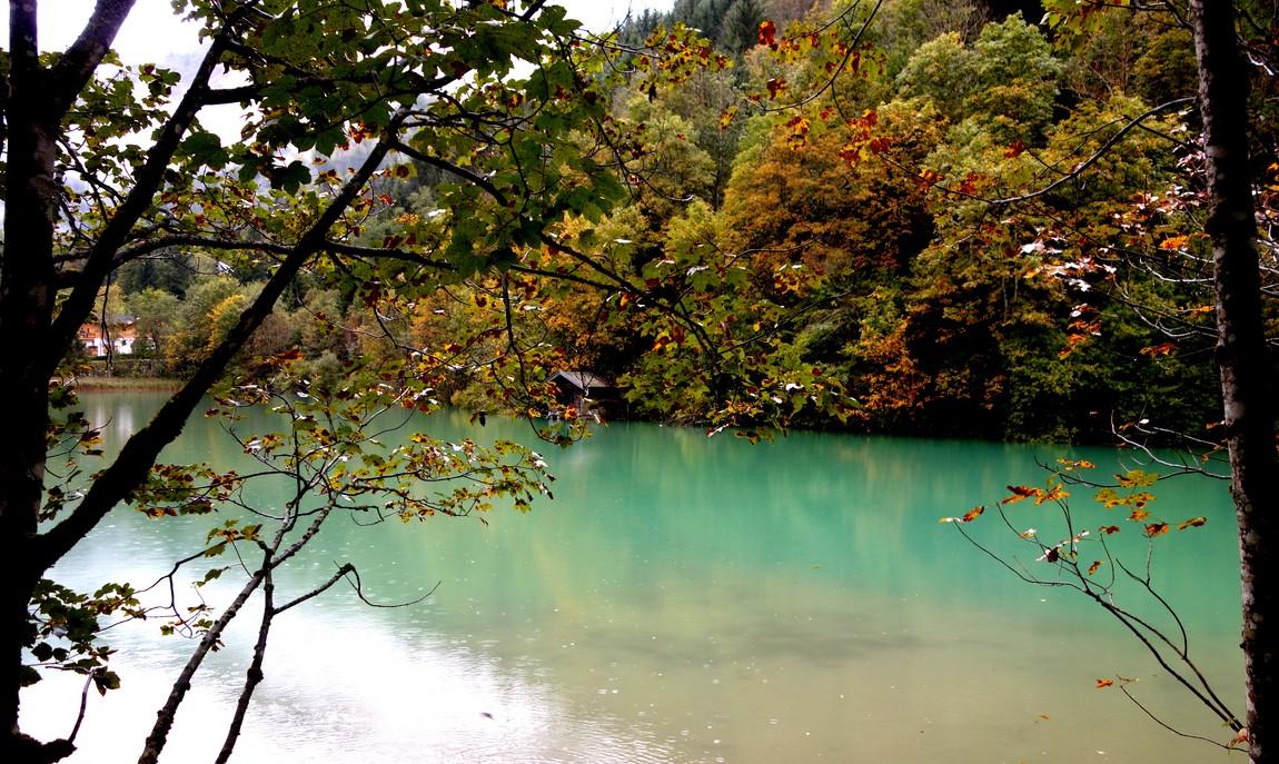 Озеро Кламмзее в Австрии