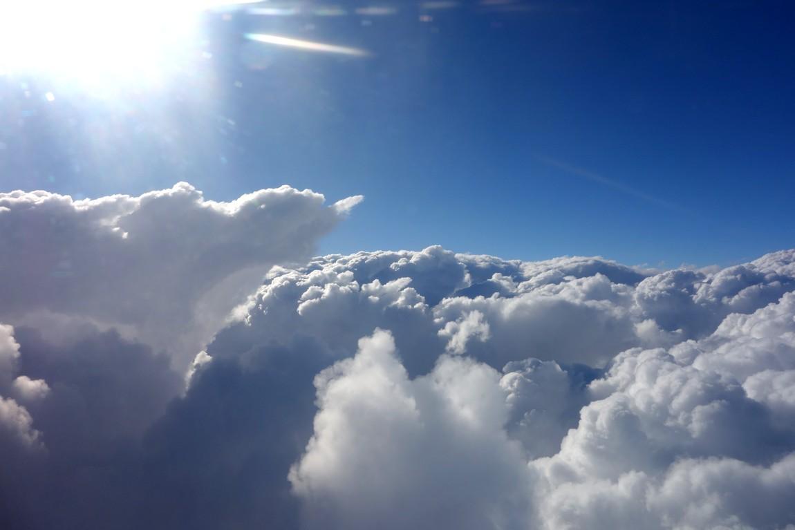 Облака над Австрией
