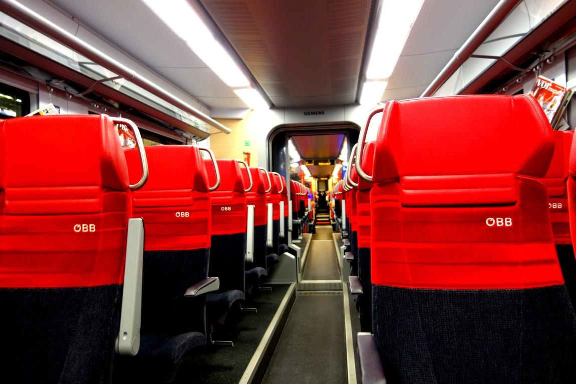 Вагон поезда Австрии
