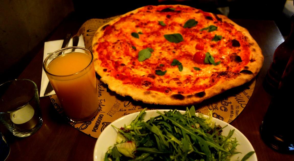 Пицца в Вене