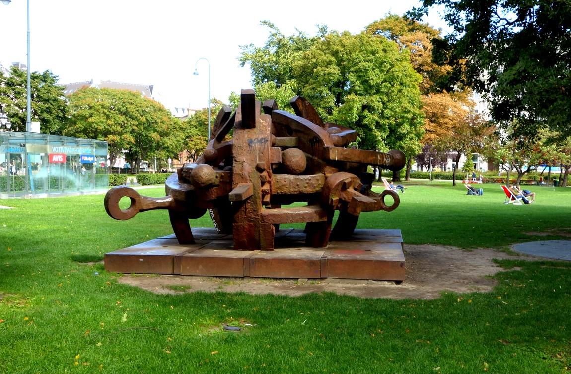 Памятник в Вене