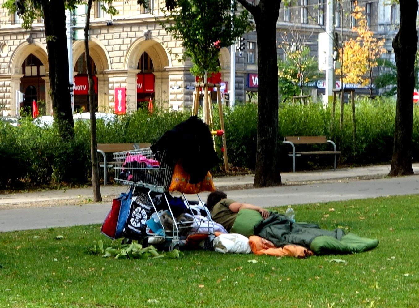 Нищие в Вене