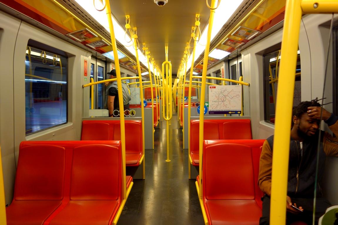 Вагоны поездов Австрии
