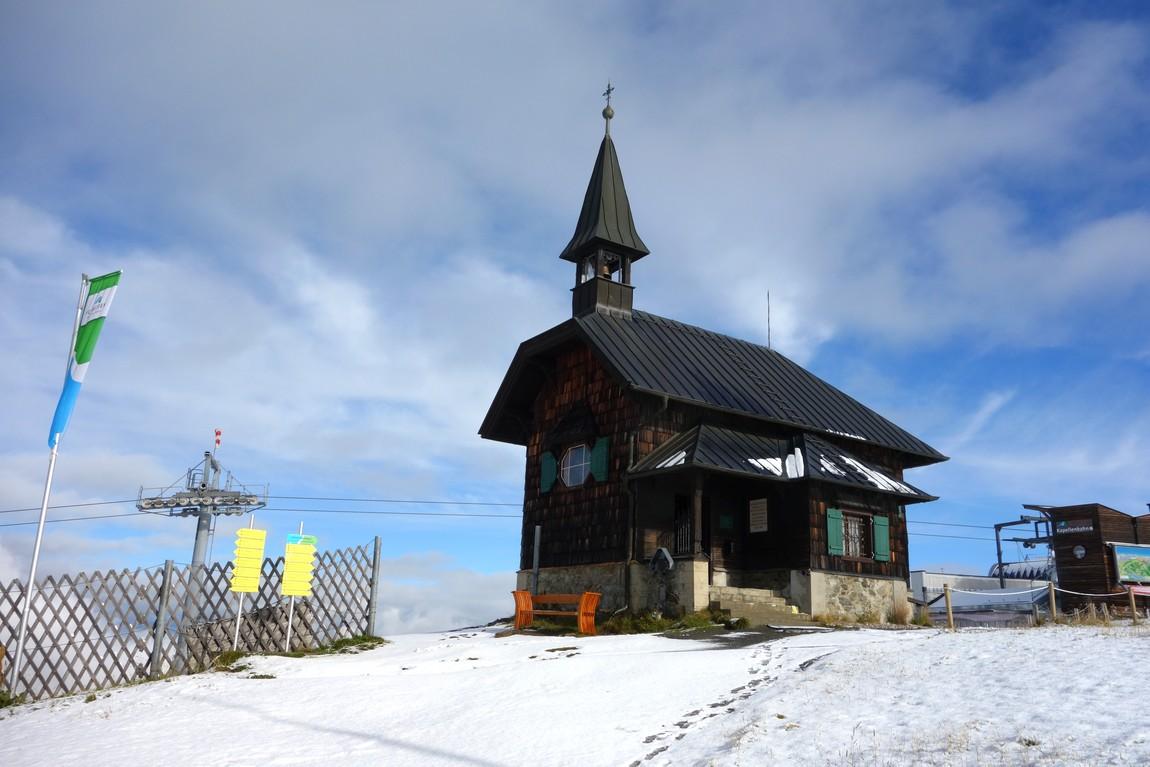 Гора Шмиттен в Цель-ам-Зее - часовенка Елизаветы.