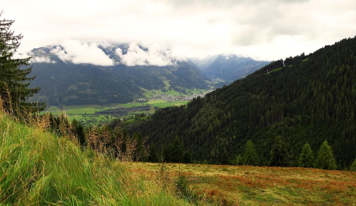 Пейзаж в горах Цель-ам-Зее