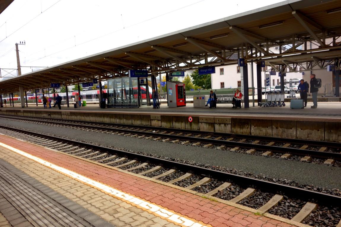 Вокзал в Зефельде - Австрия