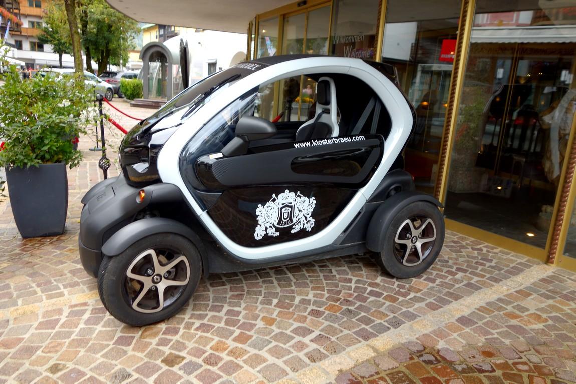 Электромобиль в Австрии