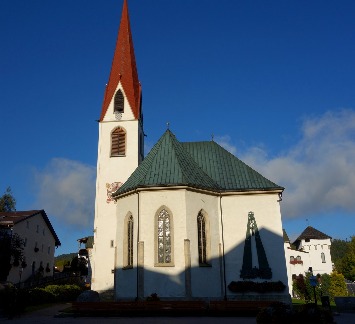 Церковь в Зеефельд в Тироле - Cанкт-Освальд (XIV в.)