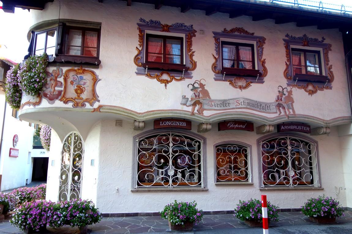 Зеефельд в Тироле - самый красивый домик