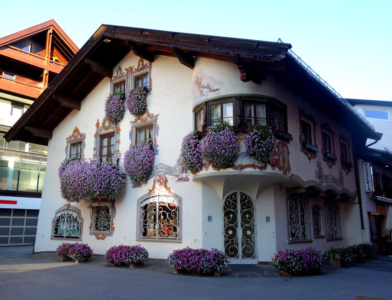 Зеефельд в Тироле - домик