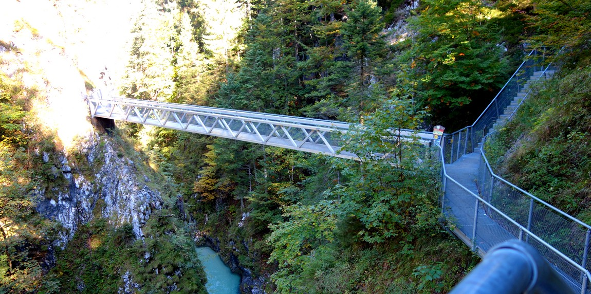 Мост ущелья Лойташ (Австрия)