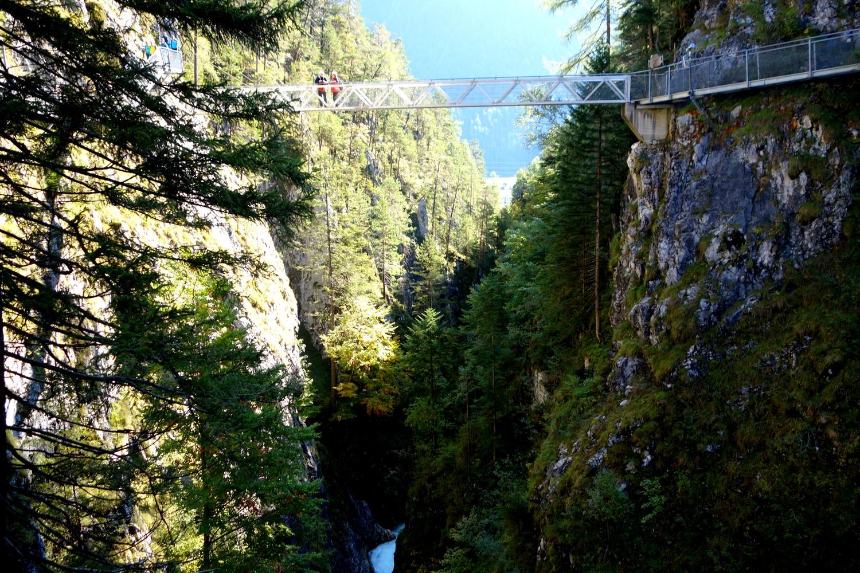 Ущелье Лойташ - панорамный мост