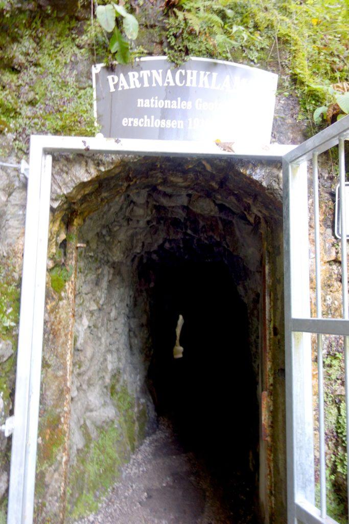 Вход в ущелье Partnachklamm