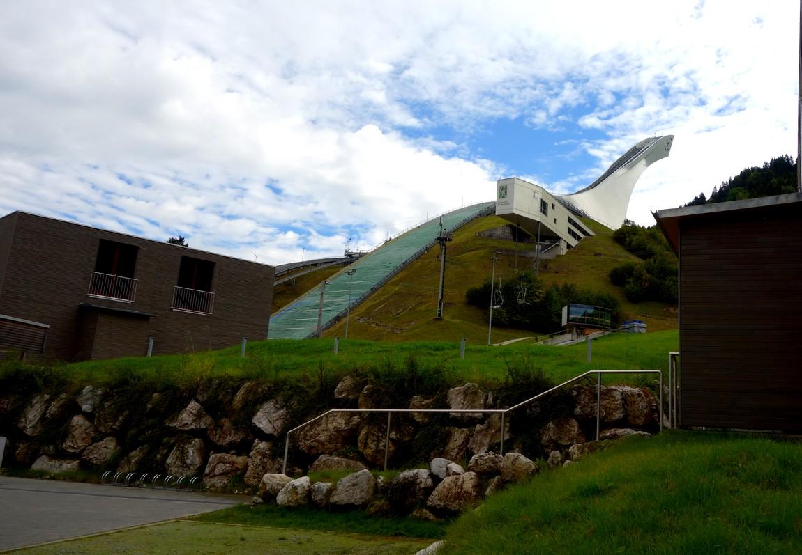 Трмплин, где проходили олимпийские игры в 1936 г Австрия