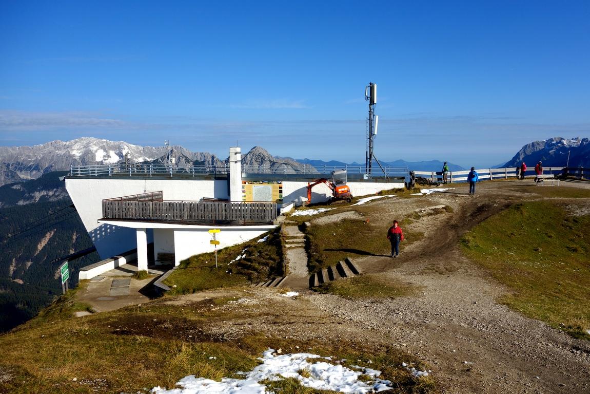 Конечная станция канатной дороги Seefelder Jochbahn - Австрия