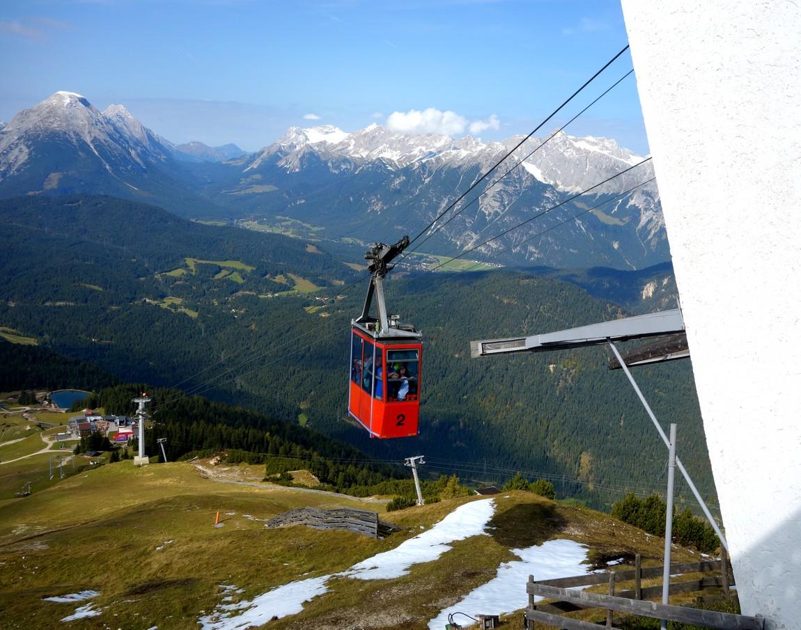 Канатная дорога в Австрии