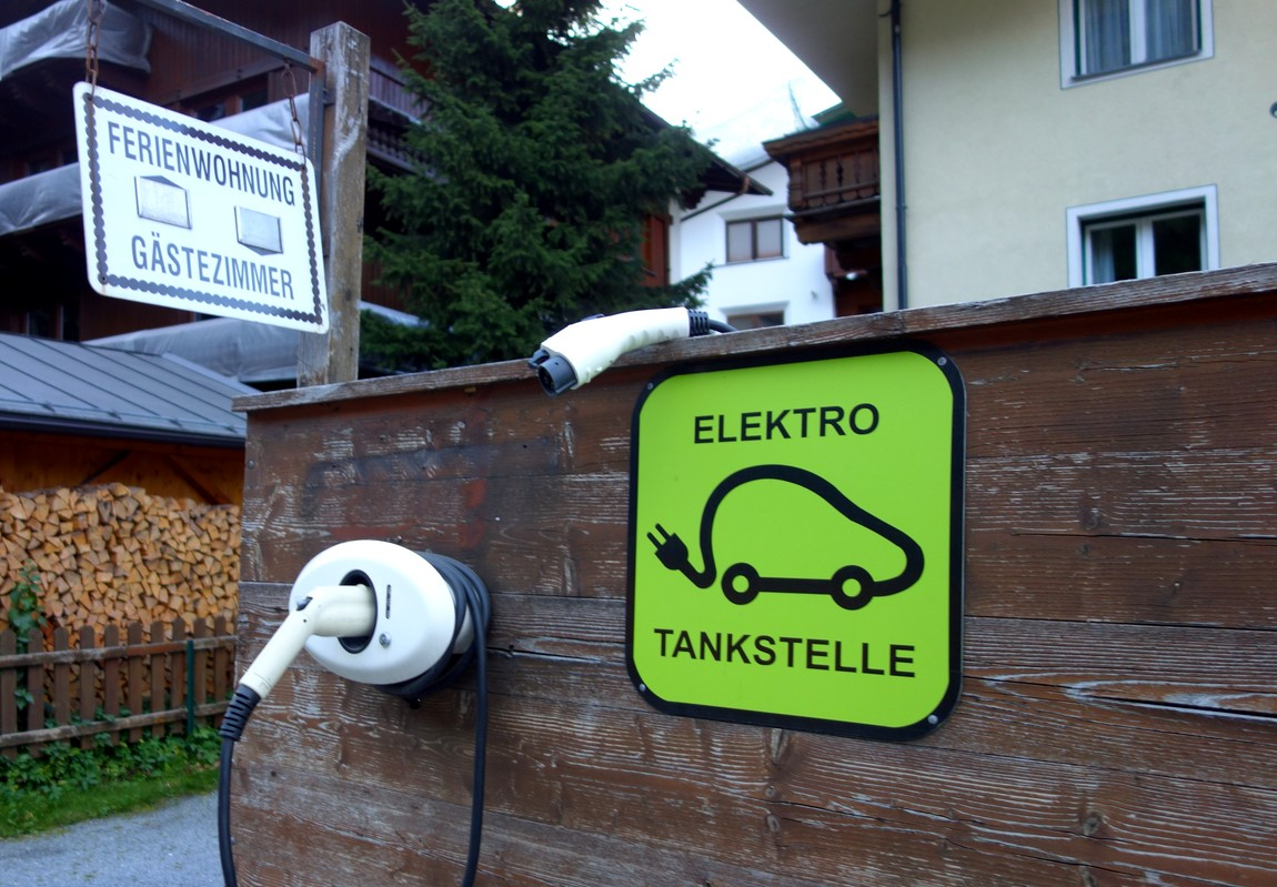 Зарядное устройство для электромобилей в Австрии
