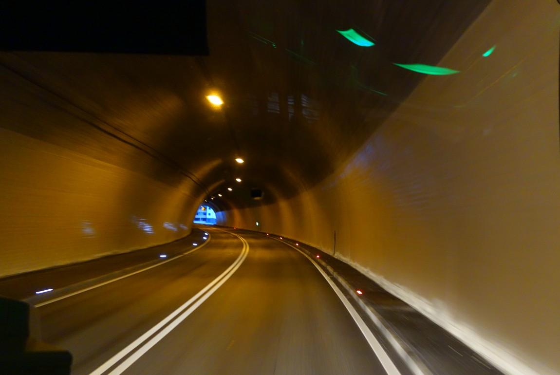 Тоннель в Австрии