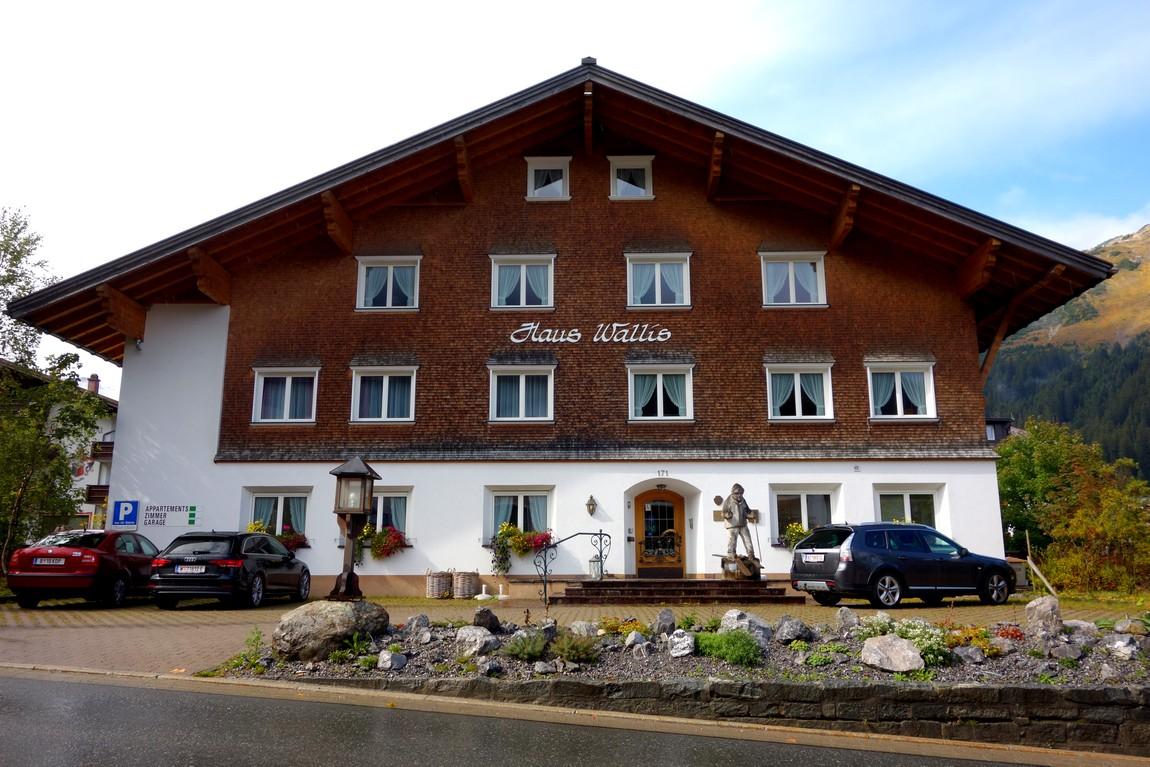 Отель Haus Wallis в г. Лех-ам-Альберг (Австрия)
